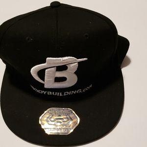 Wicked Wear Black Bodybuilding Baseball Cap Hat
